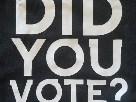 People Died, But Did You VOTE?