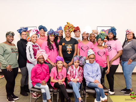 Grace Sister to Sister - Be YOU Tiful Headwrap Workshop