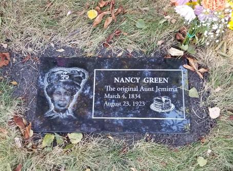"""Nancy Green """"Aunt Jemima"""" FINALLY has a headstone!!!!!!"""