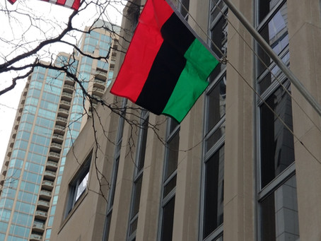 Raising of the Red, Black and Green Flag