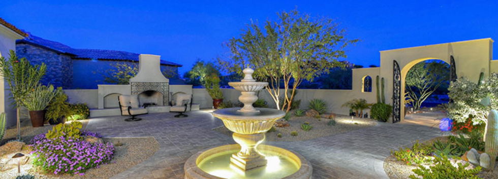 Front Patio of 9090 E. Canyon View Trail, Superstition Mountain AZ