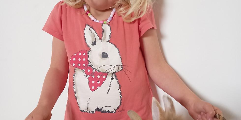 Ik wil een gelukkig! konijn. woensdag 23 juni 16u30 - 18u30.