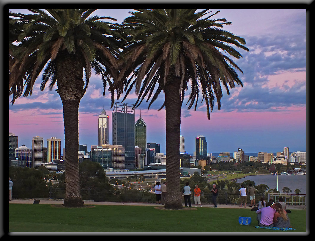 Kings Park view to city