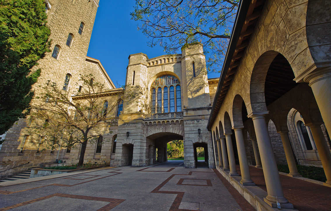 Entrance to winthrop hall