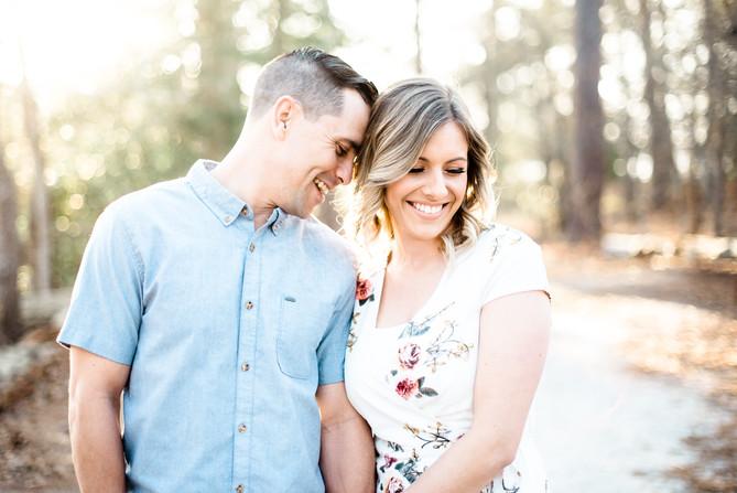 Becca + Justin Engagement | Virginia beach