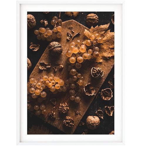 Grapes walnuts