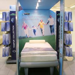 Sleepsystem. Промо-стенд систем для сна