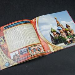 Тематический промо-каталог работ компании «Д.О.М.». Разворот «Покровский собор»