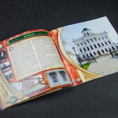 Тематический промо-каталог работ компании «Д.О.М.». Разворот «Дом Пашкова»