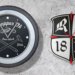 Часы байкерских клубов