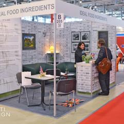 Выставочный стенд поставщика пищевых добавок Ideal Food Ingredients