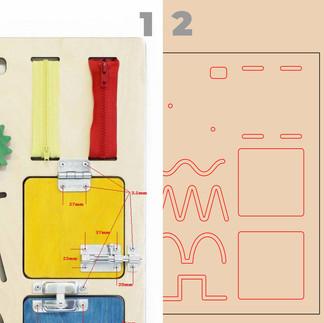 B — Изготовление чертежа по указанным размерам.
