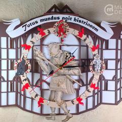 Часы с маятником «Театр Глобус»
