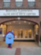 Comfy the energize mascot