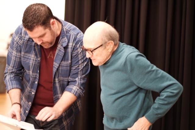 J. Scott Lapp (Director) & Larry Grossman (Playwright)