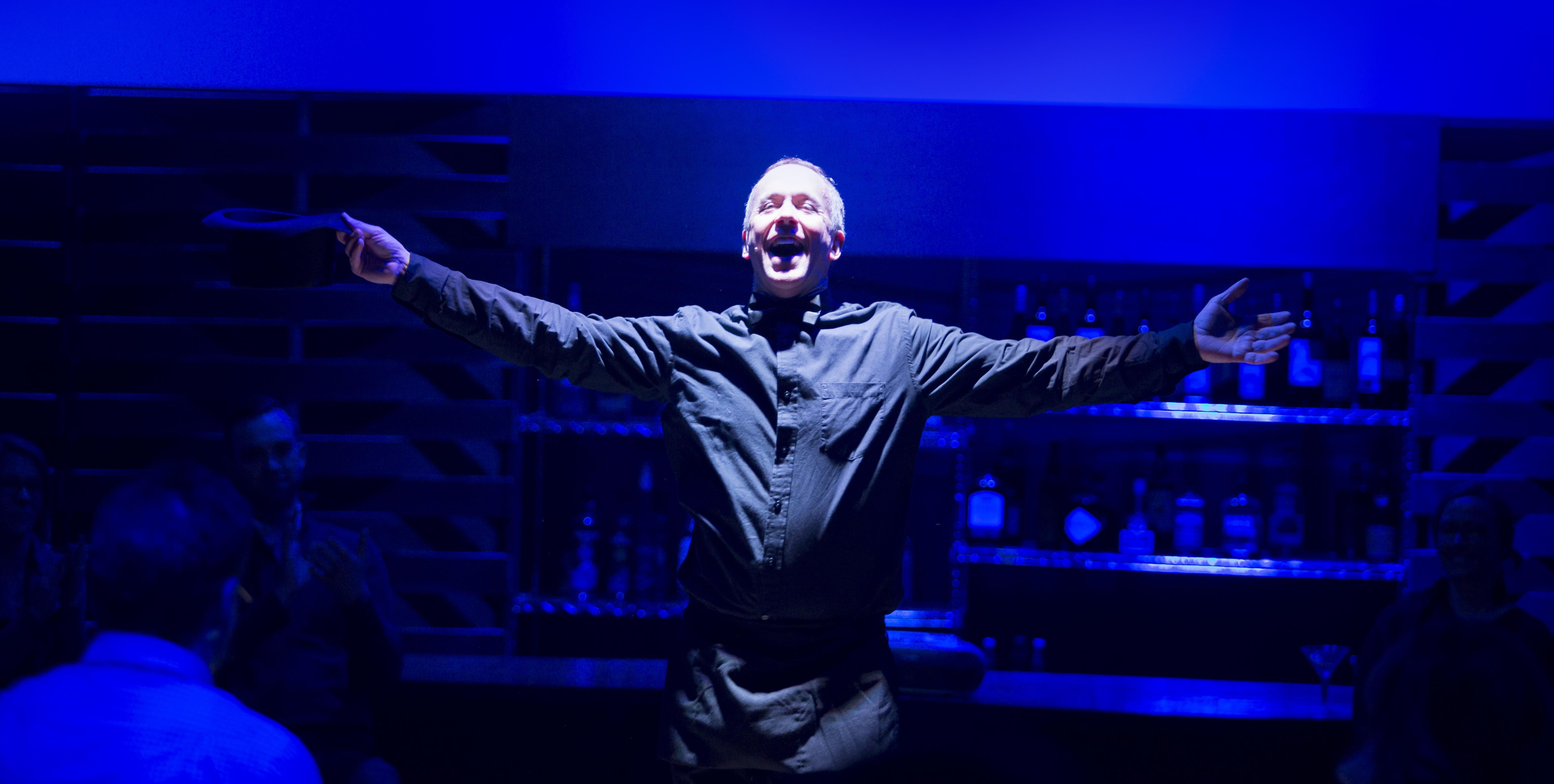 Duane Hespell as The Waiter