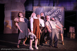 The Company of Urinetown The Musical
