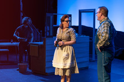Katy Stafford Galindo as Marge & Chip Wood as Charlie