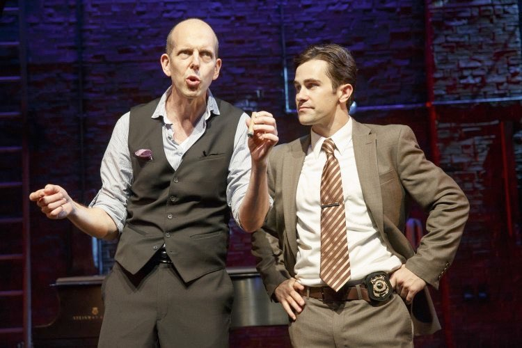 Jeff Blumenkrantz as the Suspects & Brett Ryback as Detective Marcus