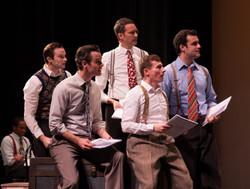 The Cast of Minnie's Boys
