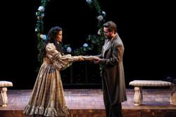 Reanne Acasio as Jo March & Joshua David Cavanaugh as Professor Bhaer