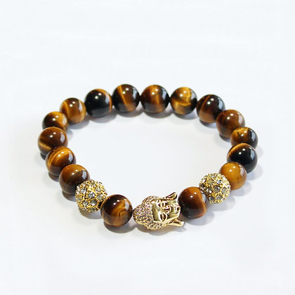Tiger's Eye x Diamond Buddha