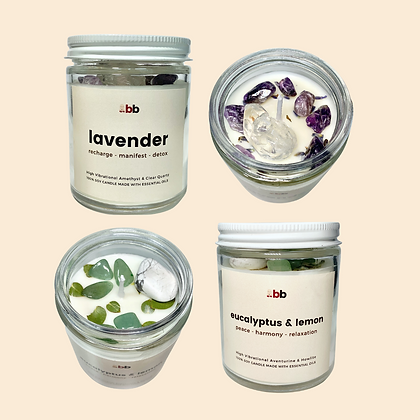 Crystal Candle Sets