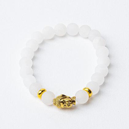 White Jade x Gold Buddha