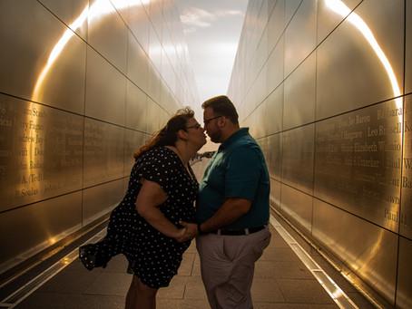 Liberty State Park Engagement Session :: Marissa & Dan