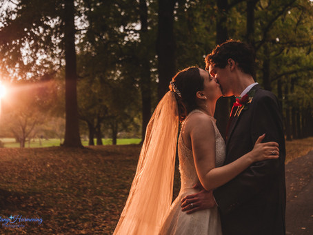 An Intimate, COVID-Chic Wedding