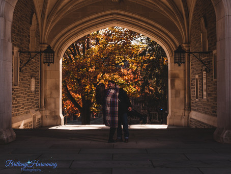 Fall Engagement in Princeton, New Jersey