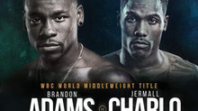 Brandon Adams set to fight Jermall Charlo