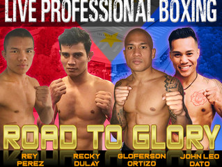 Elite Pro Boxing: Live professional boxing Mexico versus Filipinos