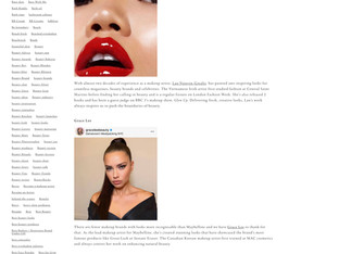 Asian Make-up Artists to Celebrate Today and Everyday | Slapp Ldn