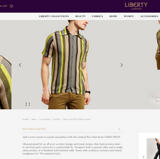 Liberty London Mens