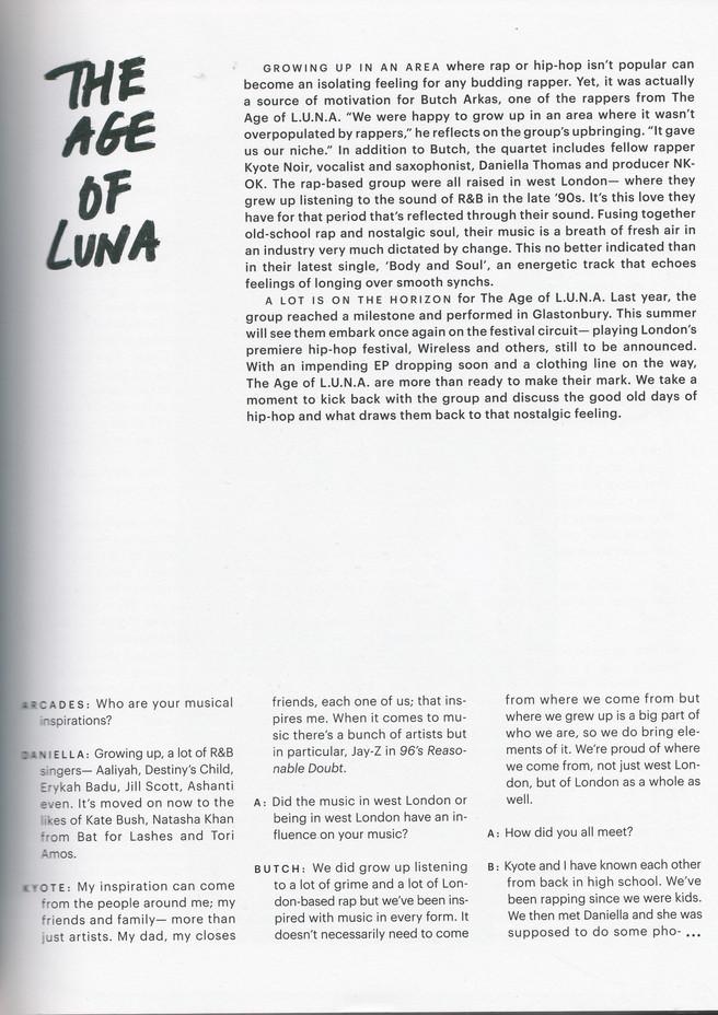 The Age of LUNA   Arcades Magazine