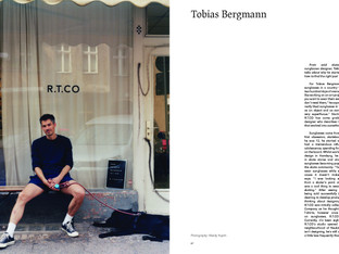 Tobias Bergmann on starting sunglasses brand R.T.C.O Berlin
