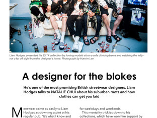 A designer for the blokes