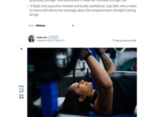 Powerlifting helped Poorna Bell overcome grief | SCMP