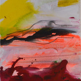 rote Wolke 40 x 50 cm
