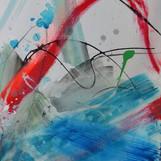 Sprung ins Wasser 60 x 80 cm