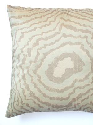 Suminagashi Silk Pillow