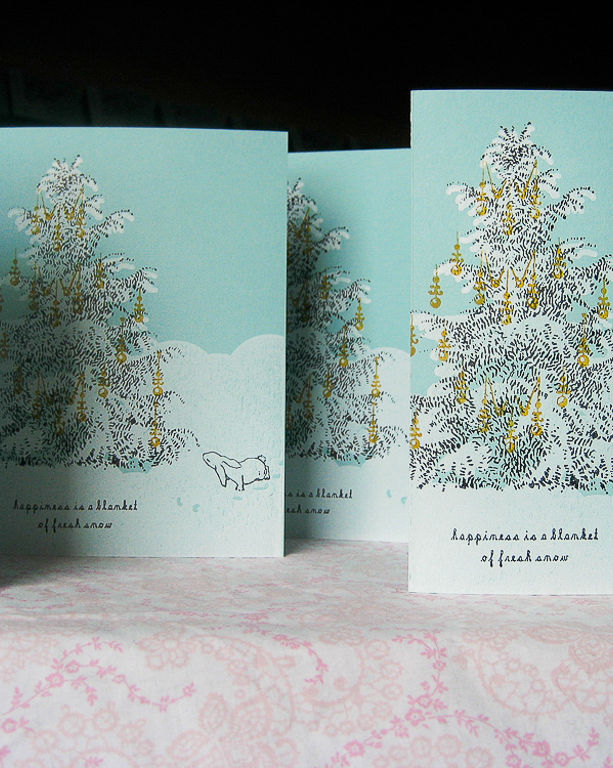 Happiness is Holiday Card