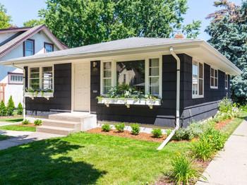 Scandi Cottage Exterior