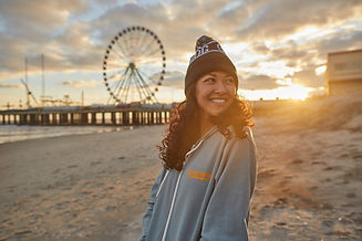 phy hoodie and beanie with ferris wheel