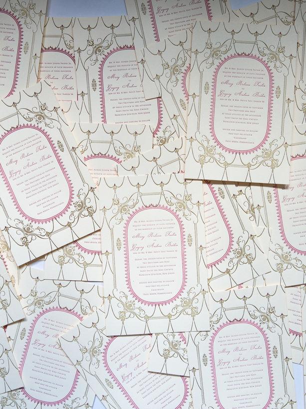 The Royal Wedding Invitation layered