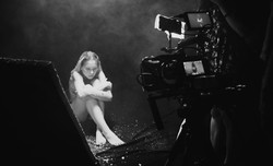 Making de Luces, por Bethany Neumann, videclip para la banda _Paraíso seis_