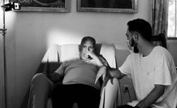 Dirigiendo el videoclip _Luces_, con Perico Cervantes, Paraíso 6