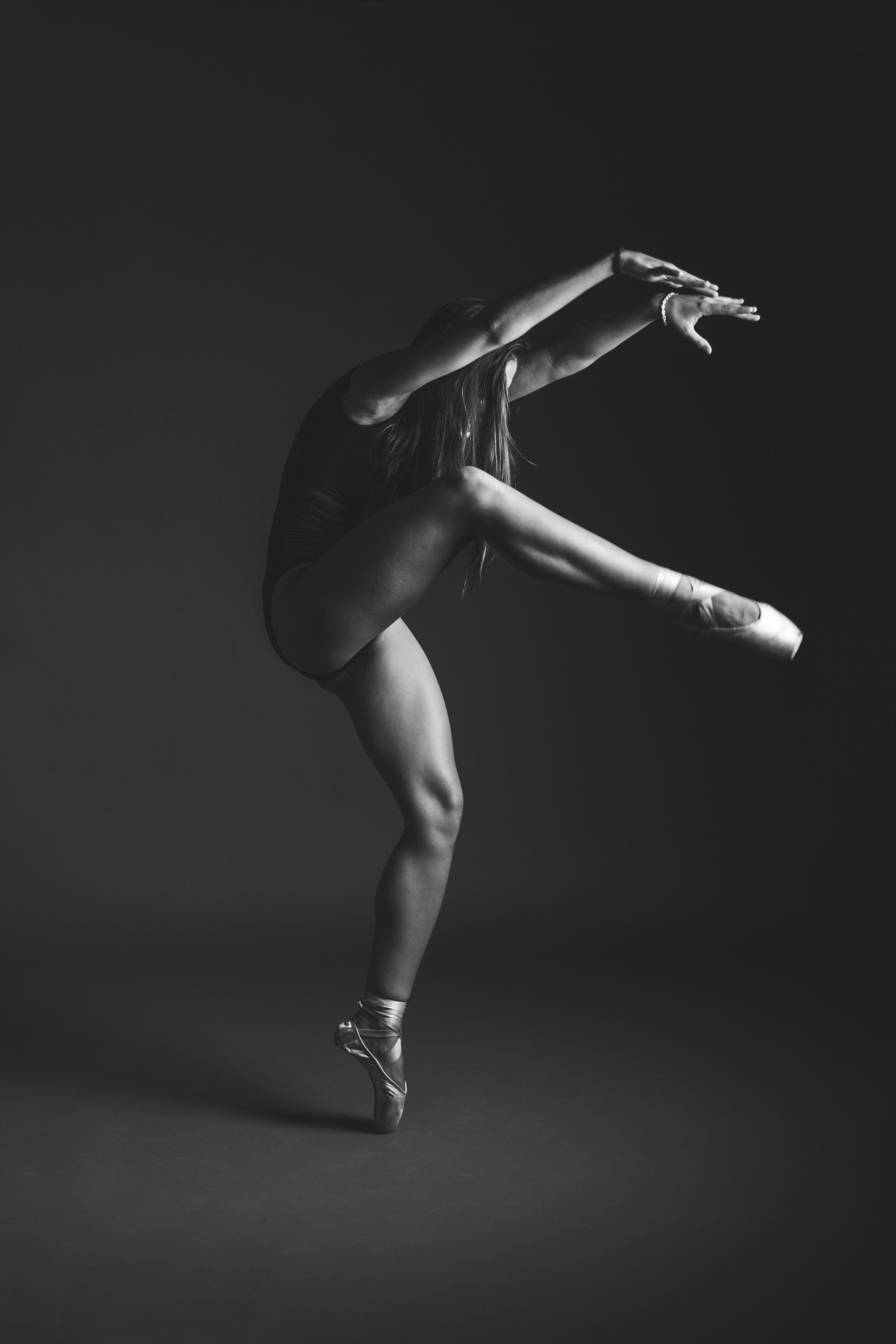 Bailarina, con Marta Santos