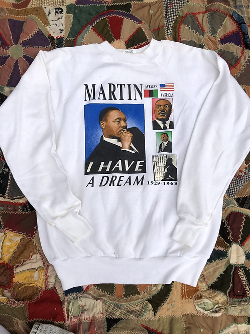 Martin Luther King sweatshirt sized XL fits size Large
